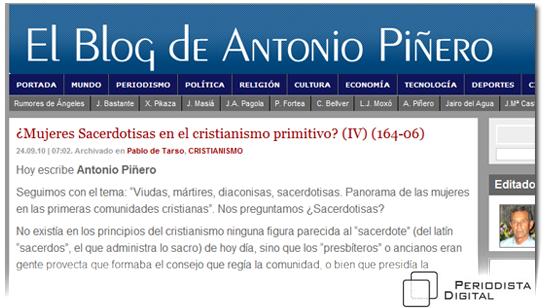 Página web del Profesor Doctor Antonio Piñero :: Antoniopinero com ::